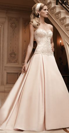 Casablanca Fall 2013 Bridal Collection | bellethemagazine.com
