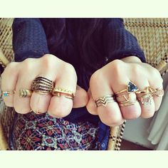 .@Dayna Mance / Prism Boutique | BAM! So many amazing rings in store right now! @bones_and_feathers @maridajew...
