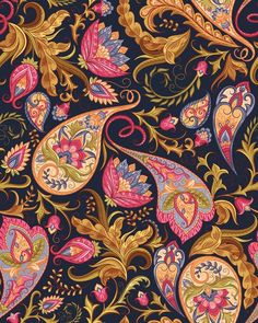 Find Vintage Flowers Seamless Paisley Pattern Traditional stock images in HD and millions of other royalty-free stock photos, illustrations and vectors in the Shutterstock collection. Thousands of new, high-quality pictures added every day. Motif Paisley, Paisley Art, Paisley Design, Paisley Pattern, Pattern Art, Pattern Flower, Paisley Fabric, Pattern Fabric, Motifs Textiles