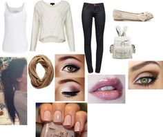 """""""Lazy Day In School"""" by crystalblack6 on Polyvore"""
