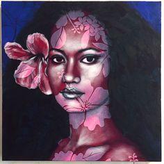 'Pop Vahine' series - 'Blood and Ink' exhibition, Tahiti