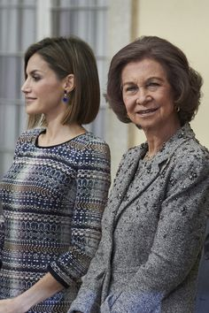 Queen Sofia and Queen Letizia of Spain Photos - Spanish Royals Deliver National Sports Awards 2014