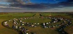 thornborough henge - Beltane 2013 - I was there camping within the henge