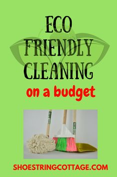Can you do eco-friendly cleaning on a budget? - Shoestring Cottage