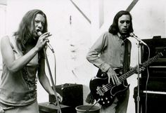 Joplin and Albin during a rehearsal, take one.