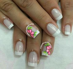 Mani Pedi, Pedicure, Hello Nails, Finger Art, Kawaii Nails, Paper Crafts Origami, French Nails, Nail Arts, Toe Nails