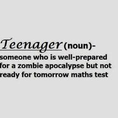 defines a teenager