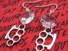 Check out this item in my Etsy shop https://www.etsy.com/listing/266714030/crystal-and-silver-knuckle-earrings