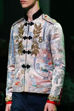 Gucci Menswear Collection and luxury details that make a difference