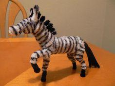 18 pipe cleaner zebra