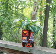 Firefighter Planter or Centerpiece by BFG