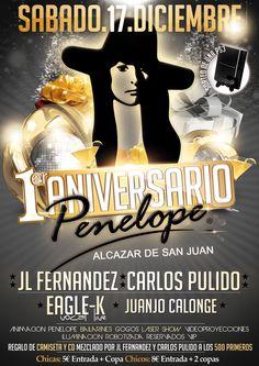 1 Aniversario Penélope - Alcazar de San Juan