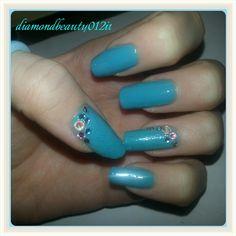 Tiffany Swarovski nails 2015