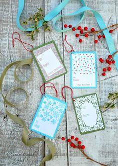 Black + White Holiday Gift Tag Printables   Centsational Girl