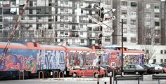 Graffiti ferroviario: ¿vandalismo o arte viajero?