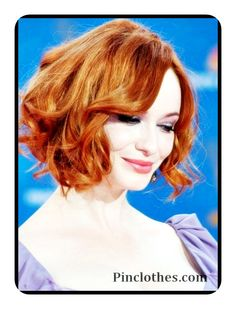 PinClothes – Fashion and Style Ideas, Women Look, Shoes, Jewelry, Skirt, Dresses & Clothes  » 2015 Wavy Curly Bob Haircuts for Short Hair