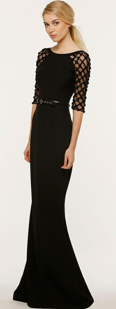 Georges Hobeika. i love modest, classy, formal dress. this looks like somethin kate would wear
