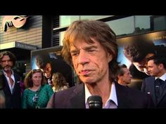 """Check out this interview that Mick Jagger did with the Syndication Press at the New York City premiere of """"Get on Up."""""""