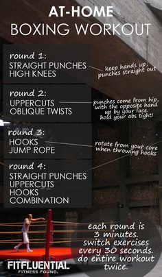 Boxing workout! #FitFluential