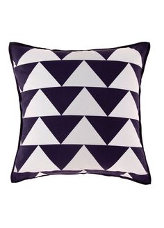 Paxton 43X43 Cushion in Navy/White by Deco Bedding