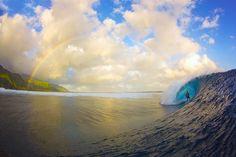 Teahupoo, Tahiti, Polinésia Francesa
