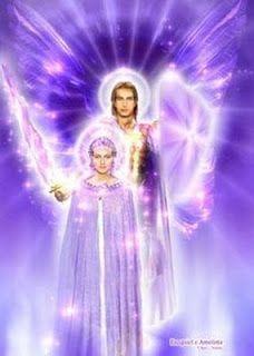 Maestros Ascendidos y Seres de Luz: Sábado día del Séptimo Rayo de la Llama Violeta