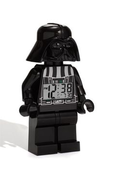 LEGO 'Darth Vader' Alarm Clock http://rstyle.me/n/dpx74r9te
