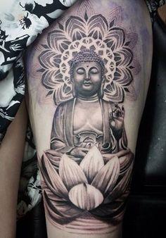 Buddha Shadow Tattoo                                                                                                                                                                                 More