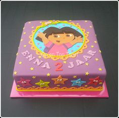 Dora the Explorer Cake                                                                                                                                                     More