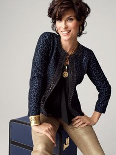 Chico's - Bold silhouetttes. Tempting textures. Dazzling details and fabulous jackets!