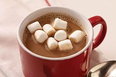 Make a hot cocoa recipe as easy as 1-2-3! All you need is three ingredients to make our 1-2-3 Hot Cocoa Recipe, perfect for serving at brunch for a crowd.