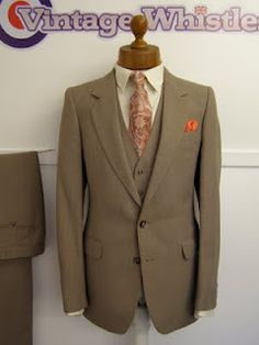 Vintage Wedding Suits