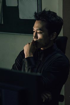 Thinking about me? I'll be there with my wedding gown and rings at the alter. Black Korean, Korean Men, Asian Men, Song Seung Heon, Asian Actors, Korean Actors, Sung Hyun, Yoo Seung Ho, Love K