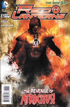 Atrocities Cry For Havoc Part 1 __Written By Charles Soule , Art J. Calafiore Cover Art Andrea Sorrentino, Guy Gardner has a difficult decision to make: deciding if the newest Red Lantern, Supergirl,