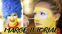 Marge in Charge! Simpson-ify Yourself For Halloween: Note: The Simpson's collection was a limited edtion line with MAC Cosmetics.