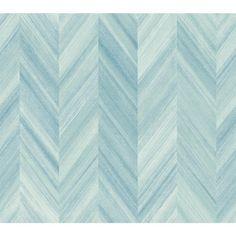 York Wallcoverings 60.75 sq. ft. Ashford Geometrics Gradient Chevron Wallpaper-GE3602 - The Home Depot