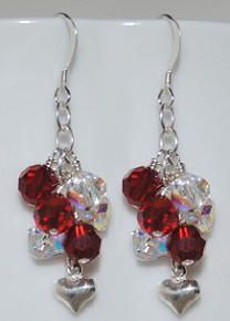 www.BestBuyBeads.com - Valentine's Day Earrings - Project #78 on the Idea Page.