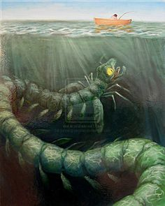 Con Rit- Vietnamese cryptid: a giant, segmented sea creature said to lurk in the Vietnam sea. It supposedly has a lot of fins that propel it through the water. Some think it is a huge undiscovered invertebrate.
