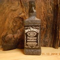 Jack Daniels Liquor Bottle ... - Post Falls, ID  I sell these out of my home, leave message or contact me if you are interested $25.00. These bottles have 20 craft lights in side. I can make any Liquor Bottles into lights. Check out my Etsy shop     www.etsy.com/shop/afteraglasscreations