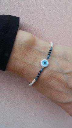 Charm Bracelet - BLUE EYE by VIDA VIDA uOI65x8