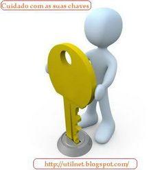 Copiar uma chave usando uma foto (Segurança)