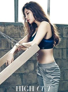 Girl's Day's Yura shows off her sexy body for 'High Cut' | allkpop.com