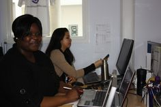 Mulenga - keeps everything running smoothly and looks after the peeps!