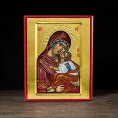 "Theotokos ""Tenderness"" (XXIc) Icon - T127 - Legacy Icons"