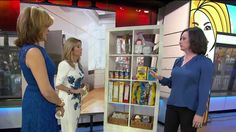 """Erin Rooney Doland, author of """"Never Too Busy to Cure Clutter,"""" is dishing her tips for organizing your foyer, TV area and kitchen pantry in (gasp!) one minute or less."""