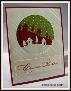 stamping up north with laurie: Christmas Greetings!