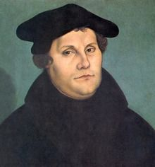 Martin Luther by Cranach. Luther's portly appearance, common bearing, and even his sometimes brusk speech made him an attractive figure to his contemporaries in Germany. People had grown tired on unrealistic models of perfection lifted up by the contemporary church.