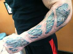 Chris Masters Tattoo tattoos and body art on pinterest Chris Masters, Batman Tattoo, Cool Tats, Body Art Tattoos, Tattoo Inspiration, Tatting, Abs, Amazing Tattoos, Scream