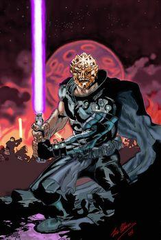 Darth Bane Masked by on DeviantArt Bane Mask, Star Wars History, Darth Bane, Star Wars The Old, Star Wars Sith, Sith Lord, The Old Republic, Star Wars Images, Comic Movies