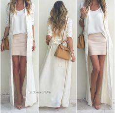 Comentário Fernanda Fuscaldo: Vestido aberto faz as vezes de uma capa. Versatiliza e deixa o look super charmoso.